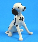 Click here to enlarge image and see more about item h02151: Hagen-Renaker Miniature Dalmatian