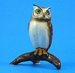 Click here to enlarge image and see more about item h02205: Hagen-Renaker Miniature Horned Owl