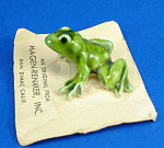 Click here to enlarge image and see more about item h02222: Hagen-Renaker Miniature Frog