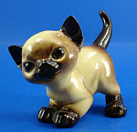 Click here to enlarge image and see more about item h02239: Hagen-Renaker DW Siamese Kitten An How