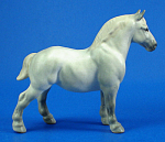 Click here to enlarge image and see more about item h02334: Hagen-Renaker Miniature Percheron