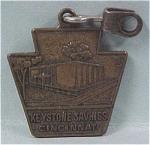 Click to view larger image of 1964 Keystone Savings Cincinnati Zipper Pull (Image1)