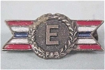 Click to view larger image of Small Military Metal 'E' Production Award (Image1)