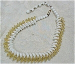 Click here to enlarge image and see more about item j00340: 1930s German Glass Bead Choker