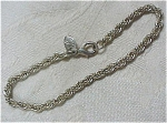Click to view larger image of Signed ML Silvertone Bracelet (Image1)