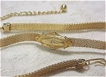 Click to view larger image of Unmarked Gold Tone Choker (Image1)