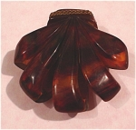 Click to view larger image of Faux Tortoise Bakelite Dress Clip (Image1)