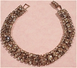 Click here to enlarge image and see more about item j00455: Rhinestone Bracelet