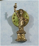 Click here to enlarge image and see more about item j00661: Statue of Liberty Clutch Back Lapel Pin