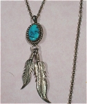 Click here to enlarge image and see more about item j00688: Southwest Style Necklace