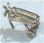 Click here to enlarge image and see more about item j00772: Unmarked Golf Bag Charm