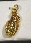 Click here to enlarge image and see more about item j00778: Crest Craft Grenade Charm