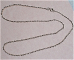 Click here to enlarge image and see more about item j00797: Sterling Silver Necklace
