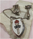 Click here to enlarge image and see more about item j00865: Sterling Silver FTA with Gavel and 62 Lapel Pin