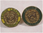 Click here to enlarge image and see more about item j00869: Two Little League Baseball Senior League Lapel Pins