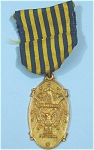 Click here to enlarge image and see more about item j00888: Mason National Sojourners Badge Pin