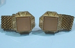 Click here to enlarge image and see more about item j00901: Unmarked Cufflinks