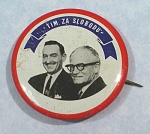 Political Pinback Button, Tim Za Slobodu