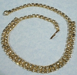"""Click to view larger image of Rhinestone Choker, 14 1/2"""" (Image1)"""
