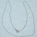 Click to view larger image of Sterling Silver Necklace (Image1)