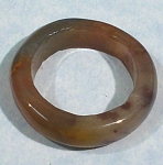 Click here to enlarge image and see more about item j00983: Carved Jasper Ring