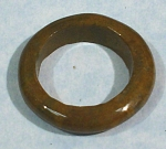 Click here to enlarge image and see more about item j00984: Carved Jasper Ring
