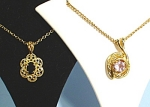 Click to view larger image of Two New Goldtone Necklaces (Image1)