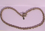 Silver and Gold Choker by Designer Lindy Freed