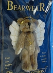 Click here to enlarge image and see more about item j01078m: Boyds Bearwear Bear Angel Pin