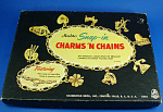 Click here to enlarge image and see more about item j01300: Vintage Hasbro Charm Bracelet Craft Set