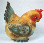 Click here to enlarge image and see more about item jo00122: 1960s Josef Original Nesting Hen
