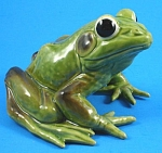Click here to enlarge image and see more about item jo00146m: Josef Original Large Frog
