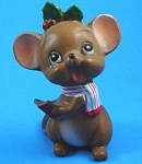 Click here to enlarge image and see more about item jo00147: Josef Original Caroling Mouse
