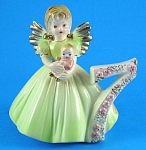 Click here to enlarge image and see more about item jo00149: Josef Original Seventh Birthday Angel