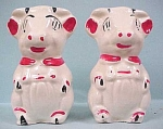 1930s/1940s Pottery Cow S/P Set