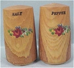 Click here to enlarge image and see more about item k00077: Wood Salt and Pepper Shaker Set
