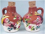 Click here to enlarge image and see more about item k00092: Hillbilly Jug Salt & Pepper Set