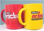 Krackle and Mr. Goodbar Plastic Mugs