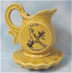 Click here to enlarge image and see more about item k00129: 1980s Ohio Souvenir Toothpick Holder