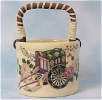 Oriental Basket Toothpick Holder