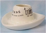 Click to view larger image of Texas Souvenir Hat Toothpick Holder (Image1)