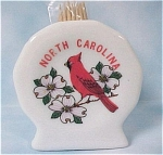 Click here to enlarge image and see more about item k00153: Bone China North Carolina Souvenir Toothpick