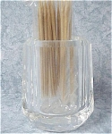 Click here to enlarge image and see more about item k00170: Clear Plastic Toothpick Holder