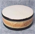 Click to view larger image of Ceramic Circus Pedistal Drum Single Salt Shaker (Image1)