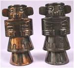 Click to view larger image of Pot Metal Tiki Totem S/P Shakers (Image1)