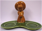 Click to view larger image of 1950s Arcadia Mexican Boy S/P Shaker Holder (Image1)
