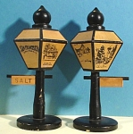 Wood San Francisco Lamppost Salt and Pepper Shakers