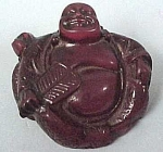 Click here to enlarge image and see more about item m00049: Netsuke Buddha