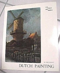 Click here to enlarge image and see more about item m00054: Book on Dutch Paintings