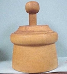 Wheat Pattern Wood Butter Mold